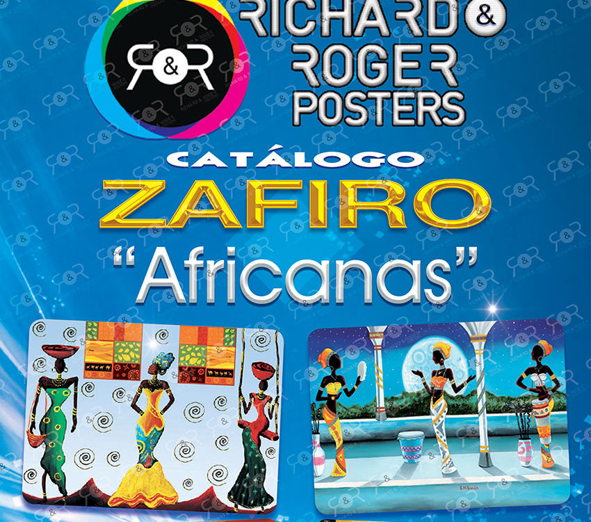 Catálogo zafiro africanas Richard y Roger Posters